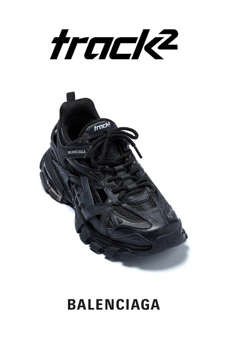バレンシアガ Balenciaga トラック Track.2 Trainer Sneaker Release Info date june 18 2019 drop buy colorways 25 demna gvasalia