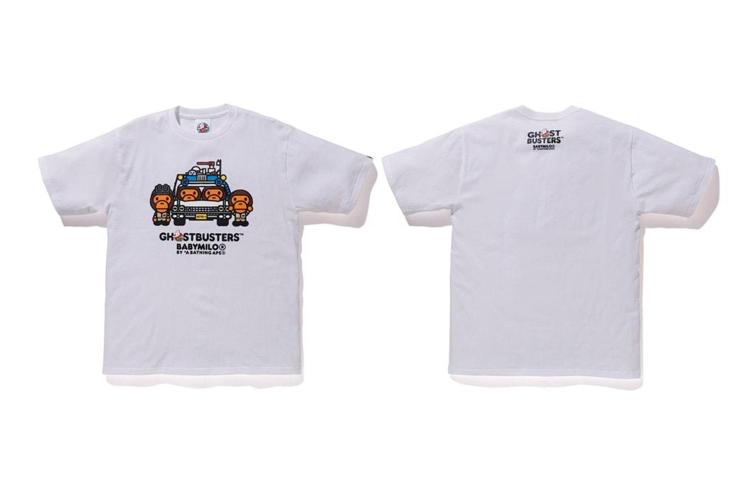 ベイプ エイプ ゴーストバスターズ BAPE A BATHING APE 発売日 オンライン ベイプスタ BAPE STA Tシャツ BABY MILO ベイビーマイロ