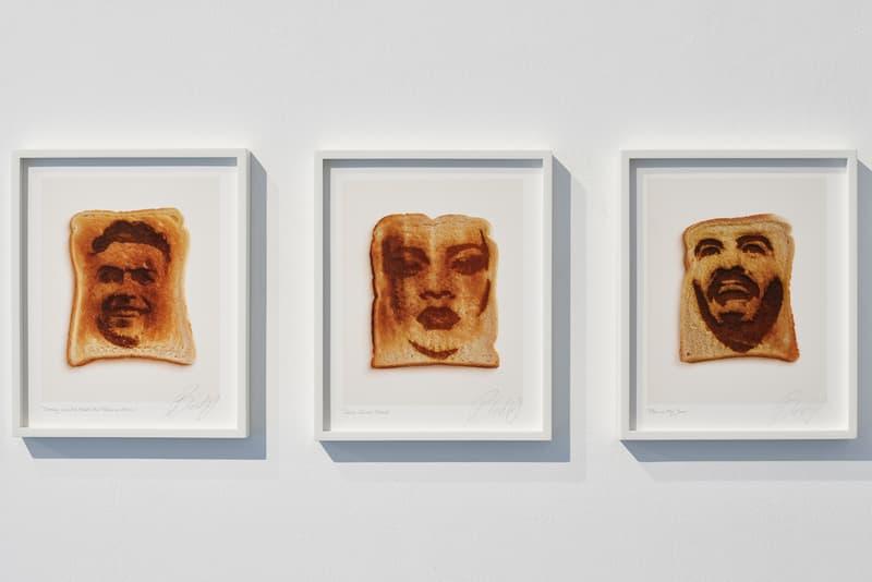 ブロンディ・マッコイ 初 ソロエキシビジョン  blondey mccoy stella populis ronchini gallery exhibition artworks paintings prints books plates