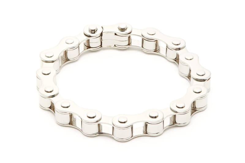 バーバリー Burberry Bicycle Chain Silver-Tone Bracelet Release Pre-AW19 jewelry offering accessories matchesfashion.com buy now price release info date drop new palladium plated brass