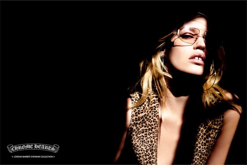 クロムハーツ Chrome Hearts ジョーダン・バレット アイウェア Jordan Barrett Eyewear Capsule collection lookbook glasses sun Laurie Lynn Stark Georgia May Jagger paris campaign richard stark paris