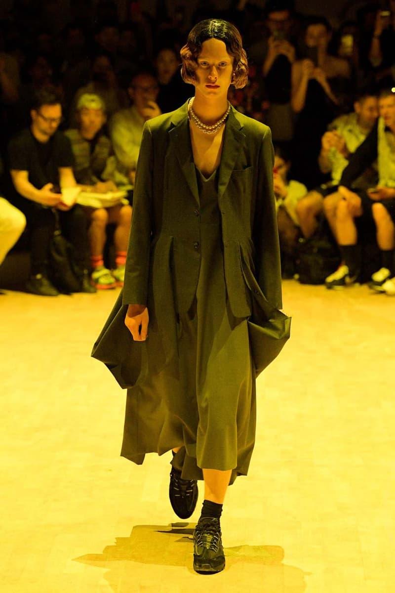 コム デ ギャルソン・オム プリュス COMME des GARÇONS HOMME PLUS SS20 Runway Show collection 春夏コレクション spring summer 2020 パリ ファッションウィーク paris fashion week pfw look air max 95 nike collaboration menswear