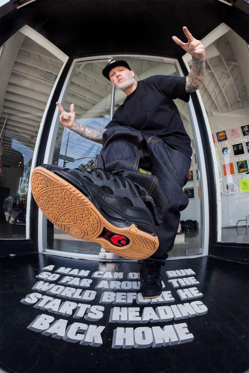 フレッド・ダースト ザ ハンドレッズ リンプビズキット Fred Durst The Hundreds x Osiris D3 Lookbook limp bizkit  rap rock band skate shoes sports California looksbooks footwear sneakers