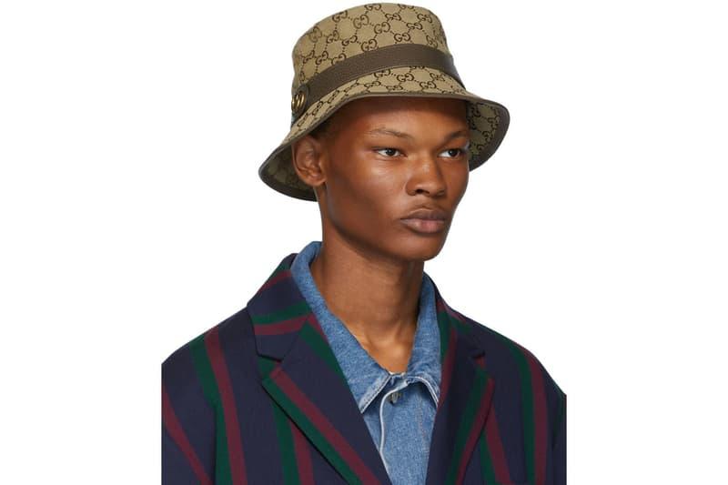 グッチ Gucci GG Logo Bucket Hat Release Brown Monogram モノグラム バケットハット