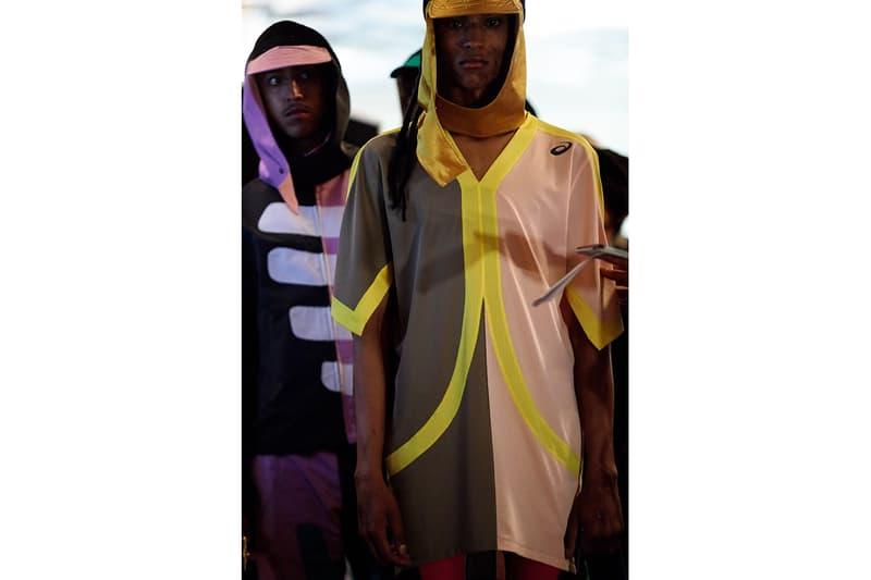 キコ コスタディノフ Kiko Kostadinov Spring/Summer 2020 Backstage LFW:M London Fashion Week: Men's Asics Collaboration Affix Works