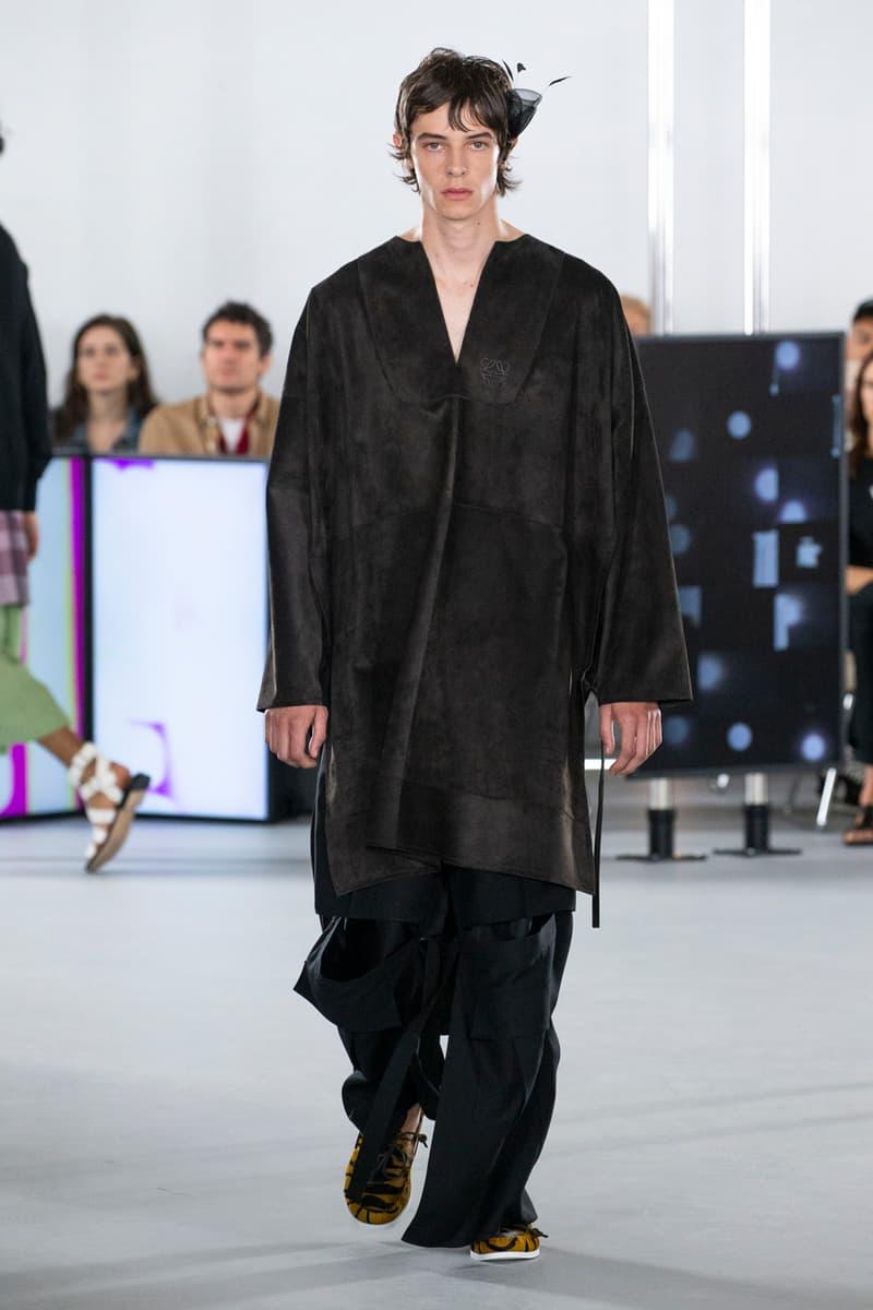 ロエベ 2020年春夏コレクション loewe spring summer 2020 mens runway show collection paris fashion week