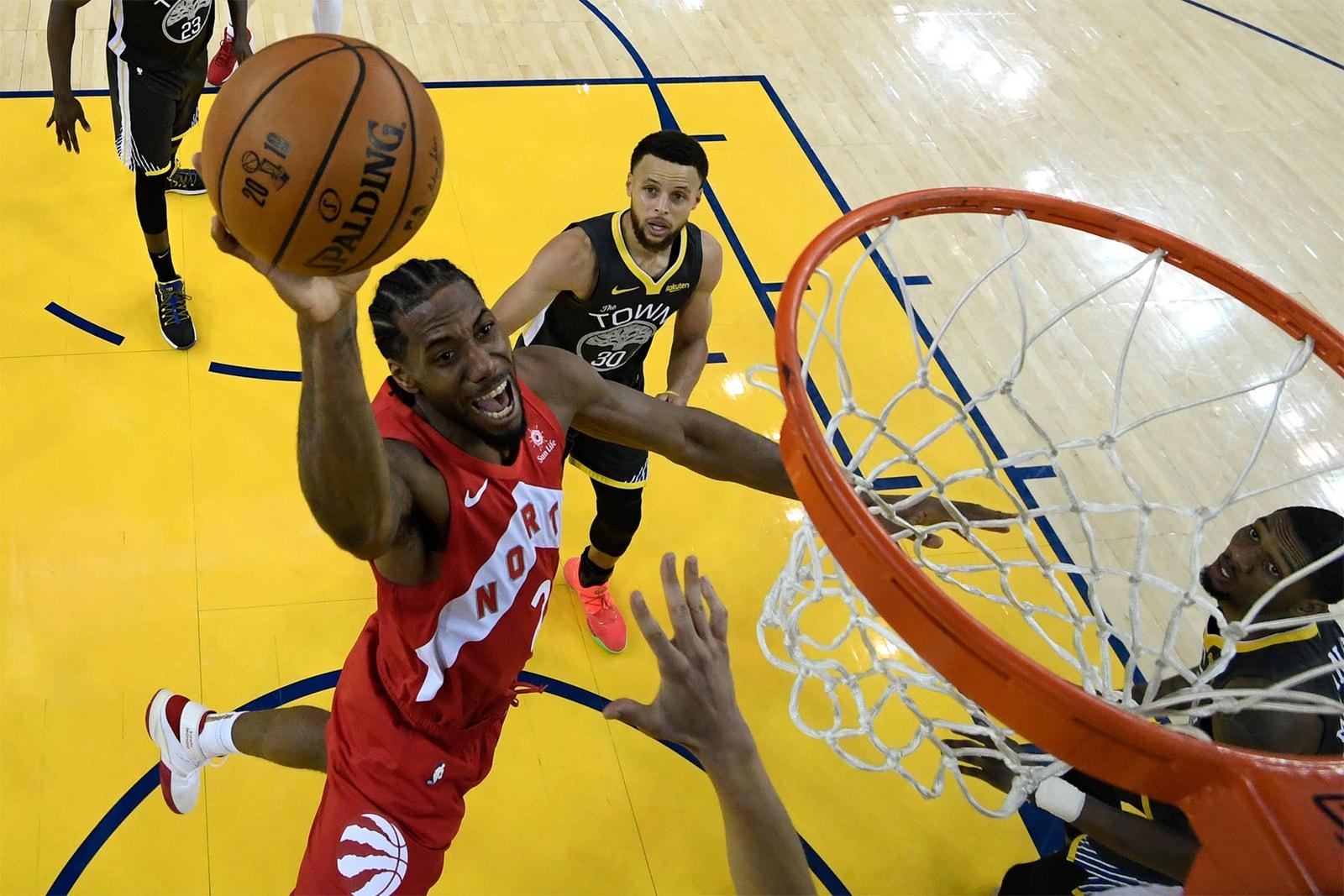 NBAファイナルを総括 Toronto Raptors Golden State Warriors 2019 NBA Champions Drake Basketball Game 6 Win First Kawhi Leonard(カワイ・レナード) Stephen Curry(ステフィン・カリー) Kevin Durant(ケビン・デュラント) Klay Thompson(クレイ・トンプソン)