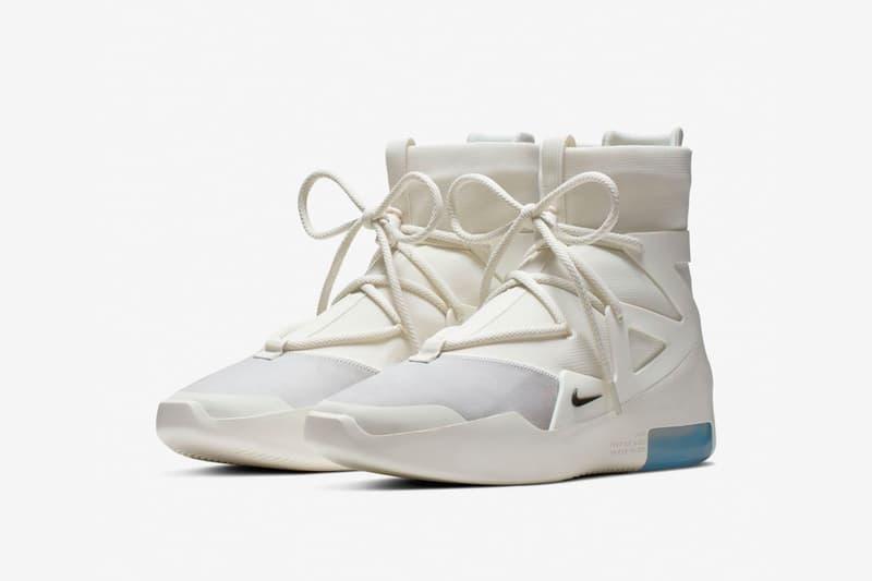 ナイキ エア フィア オブ ゴッド 1 Nike から Air Fear of God 1 のさらなる新色 SAIL Jerry Lorenzo(ジェリー・ロレンゾ)