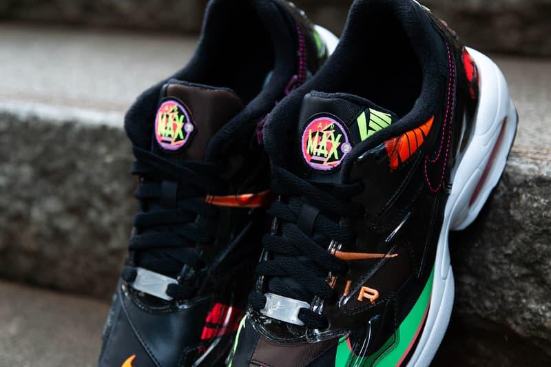 ナイキ エアマックス ライト 2 アトモス ブラック 黒 Nike Air Max2 Light atmos Black
