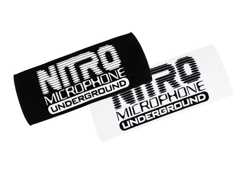 ニトロ・マイクロフォン・アンダーグラウンド NITRO MICROPHONE UNDERGROUND Tシャツ タオル ステッカー グッズ SHURE G- SHOCK DSPATCH New Era UGG RAP TEE ラバーバンド