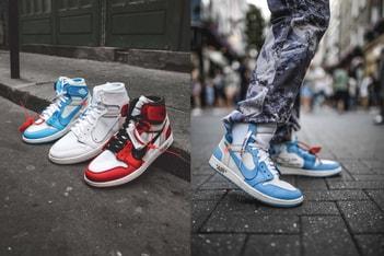 Picture of Off-White™️ コラボによる Air Jordan 1 のキッズサイズが3色揃ってリリース間近?