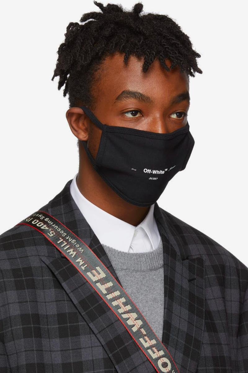 オフホワイト Off-White™ Arrows Logo Masks Release Virgil Abloh Fall Winter 2019