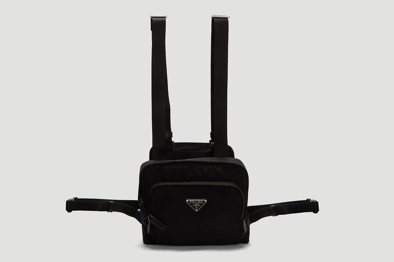 プラダ Prada Nylon Harness Bag Release Black Info 2019