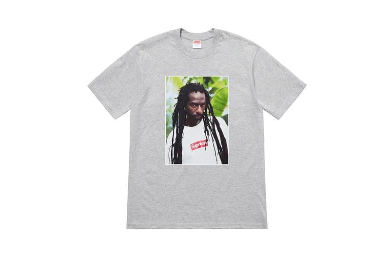 シュプリーム Supreme 新作フォトT buju banton ブジュ・バントン 2019年夏 最新Tシャツコレクションを発表