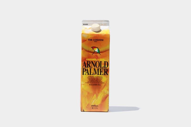ザ・コンビニが藤原ヒロシも愛飲するアーノルド パーマーとのコラボを発表 THE CONVENI が藤原ヒロシも愛飲するドリンク Arnold Palmer® とのコラボプロダクトを発表