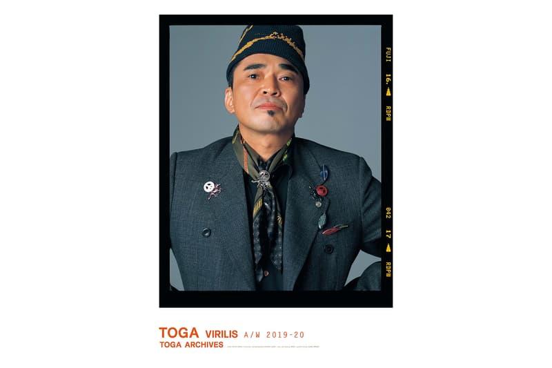 トーガ ビリリース 電気グルーヴ 石野卓球 モデル 起用 最新ビジュアル 公開  TOGA VIRILIS
