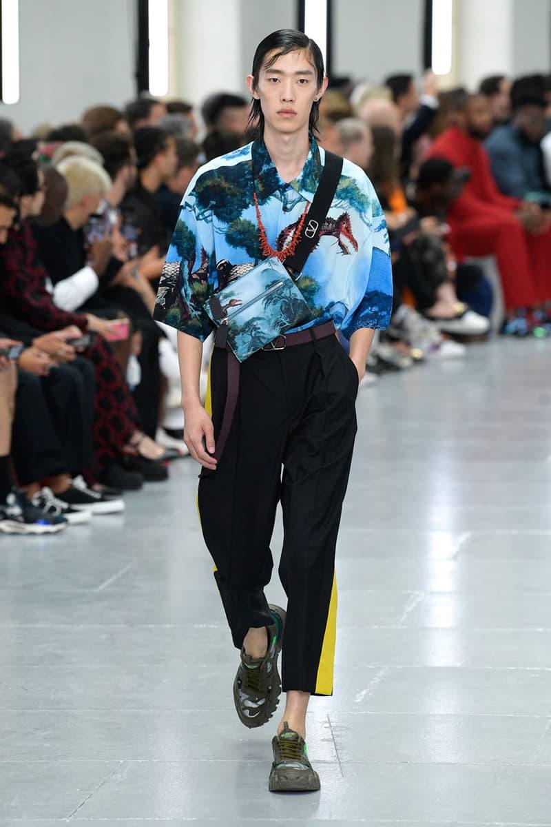 Valentino  ヴァレンティノ 2020春夏コレクション Valentino Spring/Summer 2020 Runway Collection paris fashion week pfw ss20 menswear pierpaolo piccioli presentation show