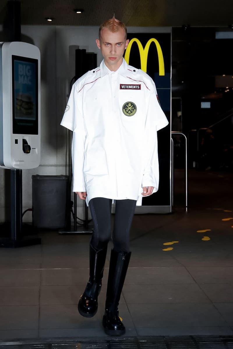 ヴェトモン Vetements デムナ Spring/Summer 2020 Runway Collection presentation ss20 paris fashion week pfw demna gvasalia