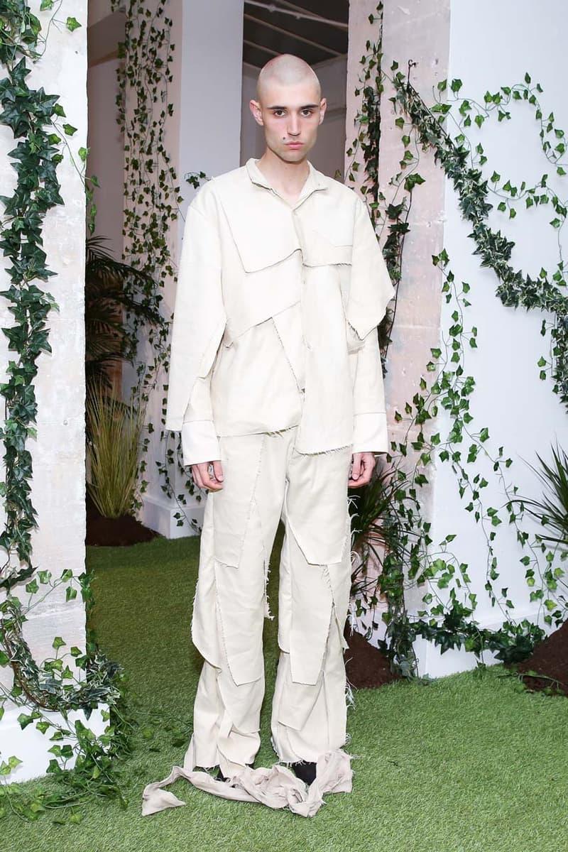 エヴ ブラバド 新ライン フー ディサイズ ウォー Everard Bravado's WHO DECIDES WAR SS2020 Runway Show spring summer 2020 collection mens pfw paris fashion week show