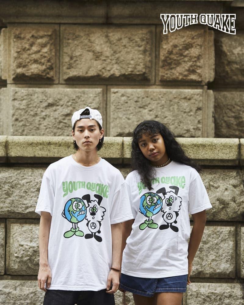 YouthQuake ユースクエイク Tシャツ VERDY CreativeDrugStore 上岡拓也 ヴェルディ クリエイティブドラッグストア