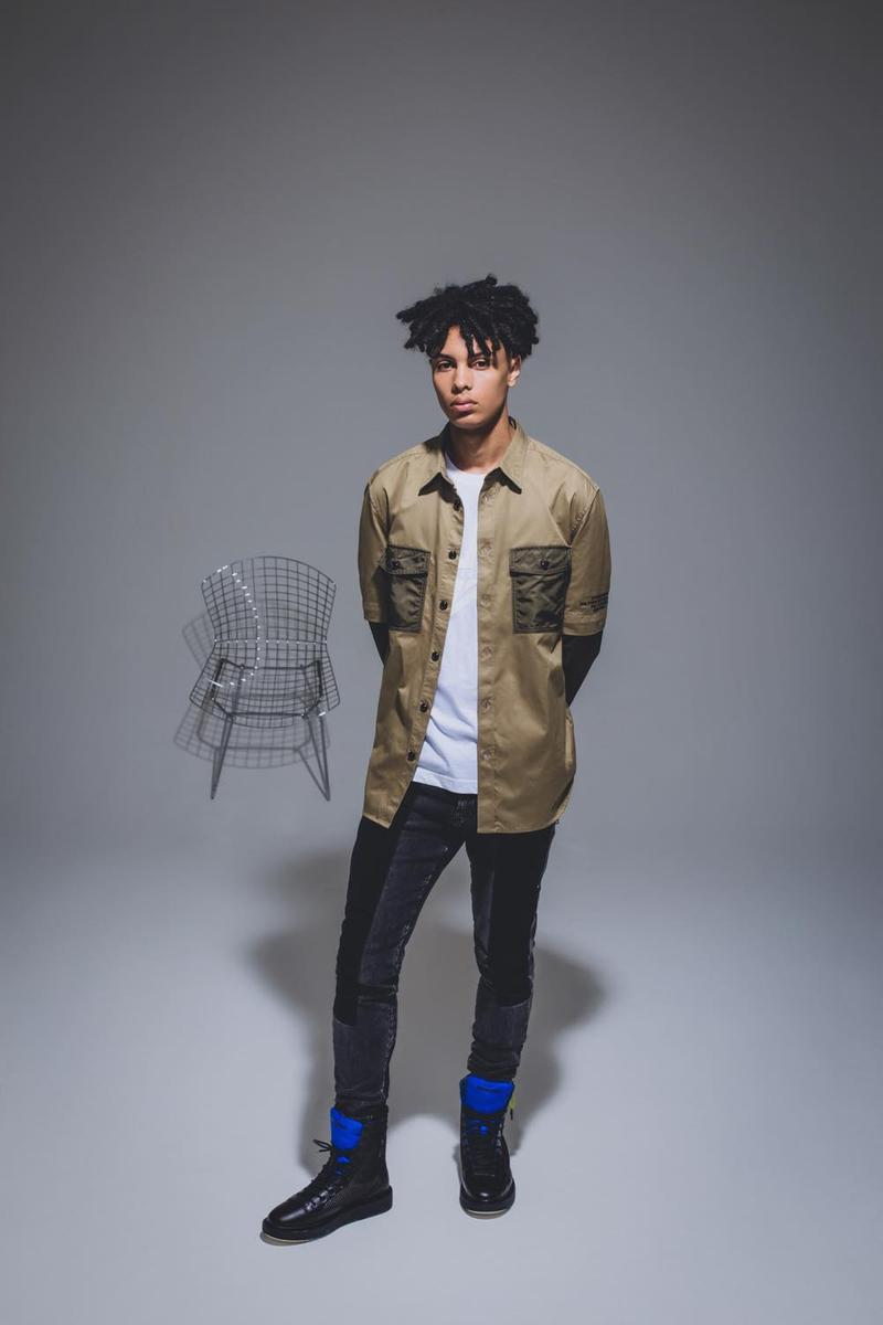 Diesel Drops Pre-Fall 2019 Denim Lookbook Jeans Tonya Harding  ディーゼル デニム ルックブック ダメージ加工 リペア
