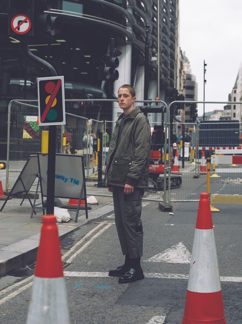ユニフォームエクスペリメント uniform experiment ライナー アノラック スモック ブルゾン ミリタリー シャツ ブラック ベージュ グレー ベルト オンライン ブログ フラグメント fragment design