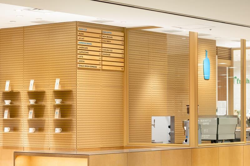 ブルーボトルコーヒー Blue Bottle Coffee 大丸東京 スキーマ建築計画 長坂常 建築 デザイン 設計 住所 営業時間 場所