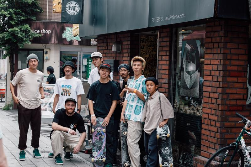 タイショーン・ジョーンズ tyshawn 初 シグネチャー モデル 発売 中野 スケートボード スケーター パーク KEEP TOKYO CLEAN