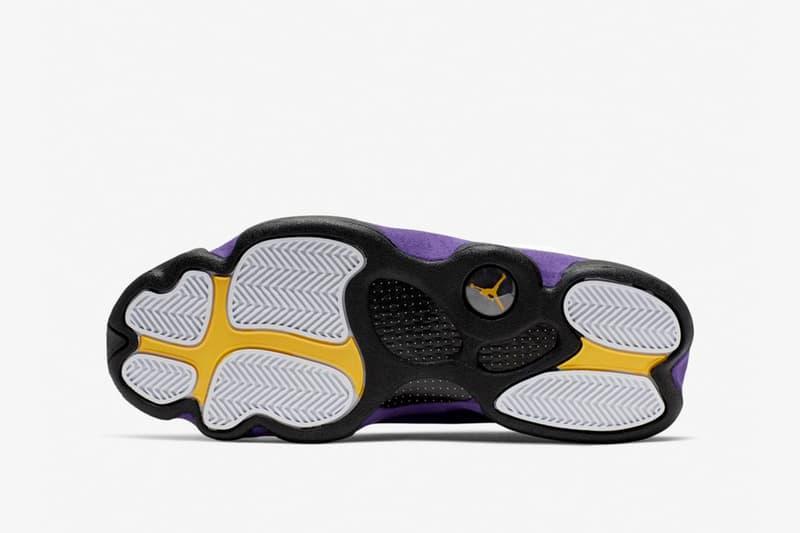 レイカーズカラー エアジョーダン13 air jordan 13 Michael Jordan(マイケル・ジョーダン)nike jordan brand ナイキ