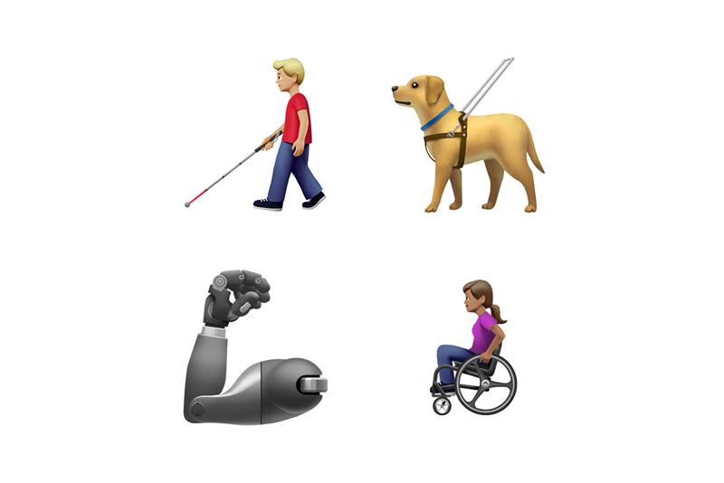 apple アップル tech 絵文字 emojis 同性 カップル 障害 customizable holding hands race gender ethnicity same sex disabled hearing aid deaf sign language wheel chair prosthetic arm leg guide dog food animal sari swim suit costume one piece falafel butter waffle garlic orangutan sloth skunk flamingo yawning smiley release information fall 2019 秋 リリース