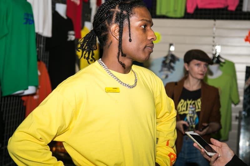 エイサップ・ロッキー A$AP Rocky Sweeden july tour dates Henrik Olsson Lilja lawyer