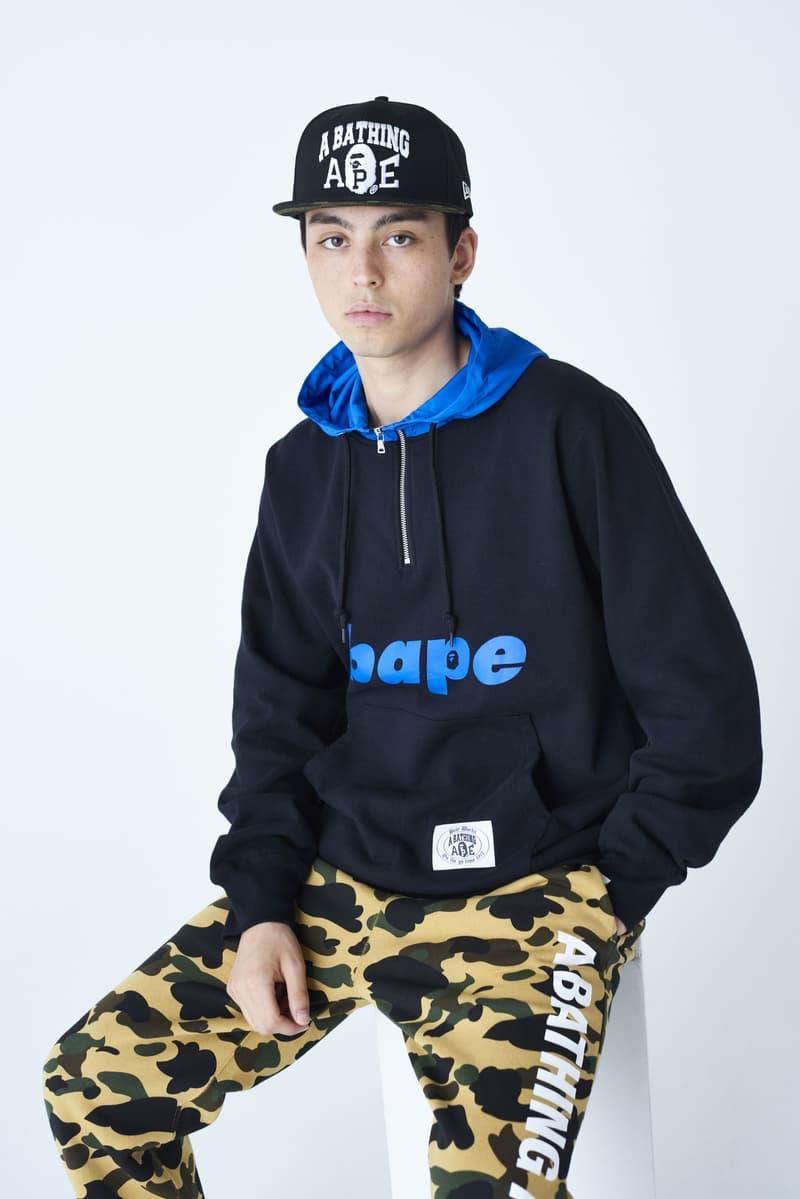 BAPE ベイプ エイプ A BATHING APE  オンライン 新作 発売日 2019年秋冬 並び Tシャツ ベスト キャップ マスク ダウン