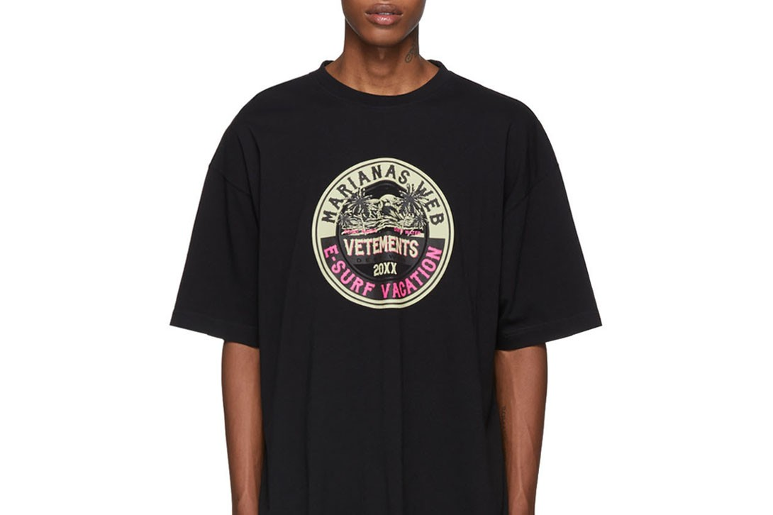 HYPEBEAST がセレクトする今夏に活躍すること間違いなしの最旬Tシャツ 10 選 T-shirts summer 2019 off white balenciaga vetements palm angels juun.j amiri raf simons