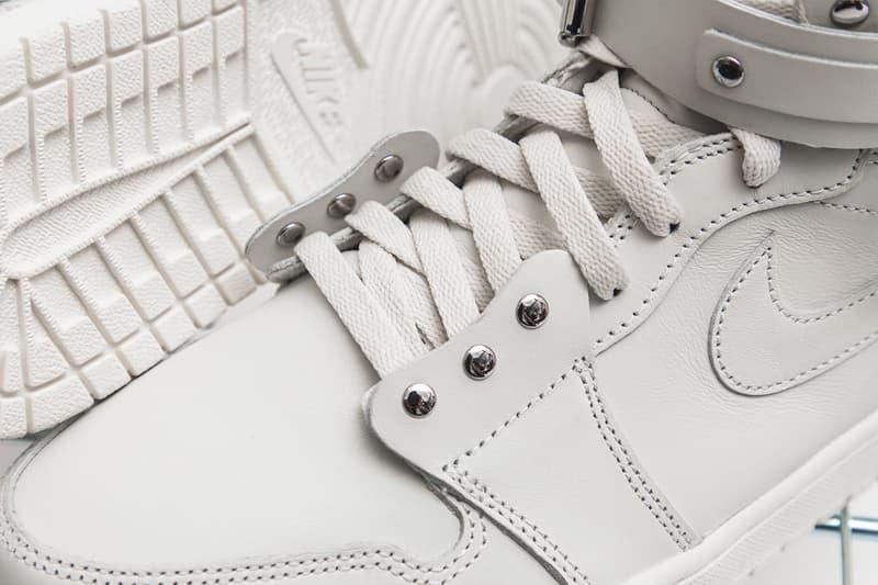 COMME des GARÇONS Air Jordan 1 Retro High Closer Look Black White CN5738-001 CN5738-100