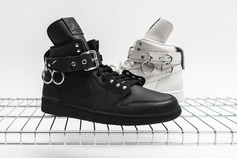 COMME des GARÇONS Air Jordan 1 Retro High Closer Look Black White CN5738-001 CN5738-100