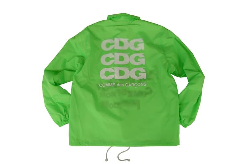 コムデギャルソン CDG Hoodies Jackets T-shirts tees backpacks comme des garcons new tokyo store marunouchi green pink orange