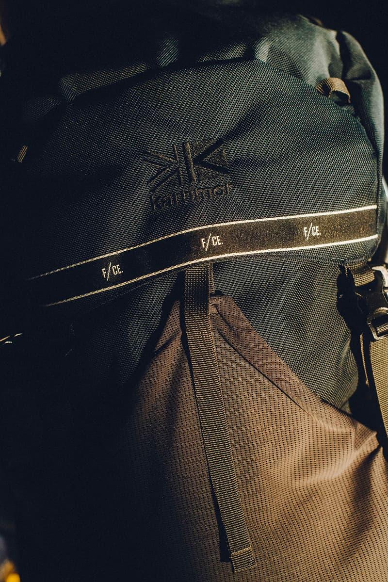 カリマー エフシーイー karrimor F/CE SL35 トラックジャケット ショーツ フロントバッグ ボディバッグ オンライン アイテム 商品 画像 値段 価格