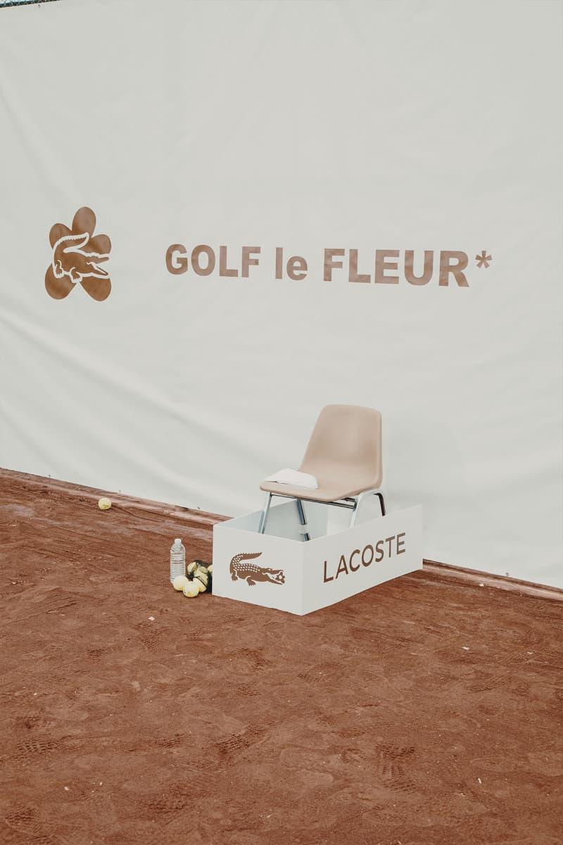 タイラー・ザ・クリエイター tyler the creator lacste ラコステ コラボ カプセル コレクション 公式 発売 情報  GOLF le FLEUR*