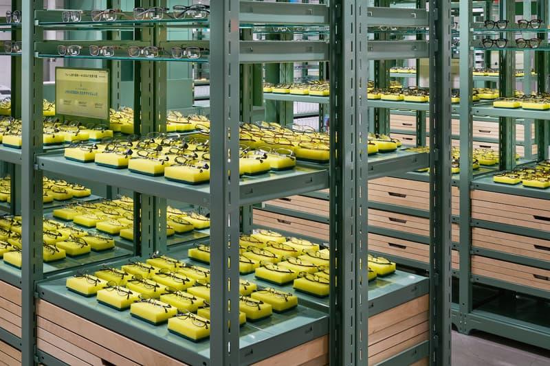 ジンズ JINS 銀座ロフト店 スキーマ建築計画 デザイン 設計 店内 スポンジ スコッチ・ブライト メガネ 眼鏡