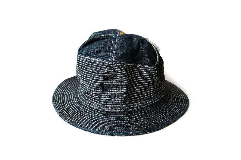 キャピタル Kapital 老人と海  'Old Man and the Sea' Inspired 新作デニムバケットハット Bucket Hats Denim pants jeans distressed darning repair japanese fashion americana ernest hemingway