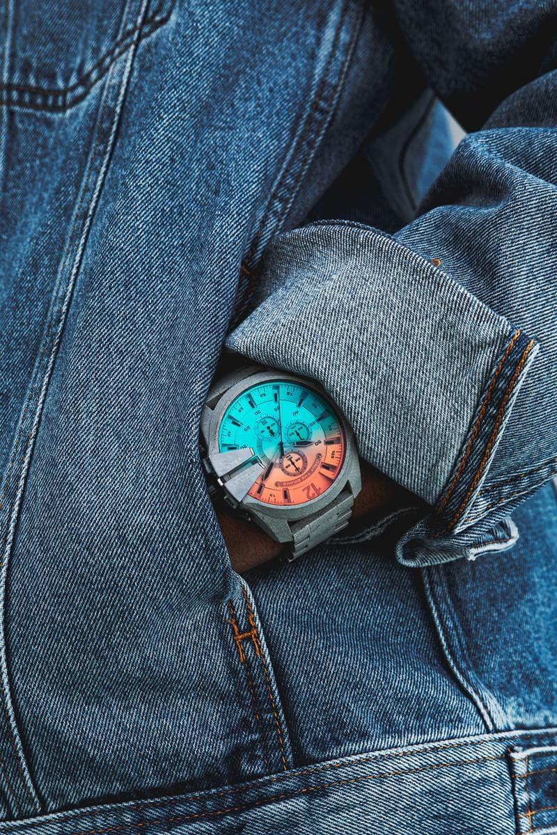 プロ・エラ カークナイト ディーゼル 時計 オレンジ ブルー 西海岸 イタリア ラッパー MC ニューヨーク