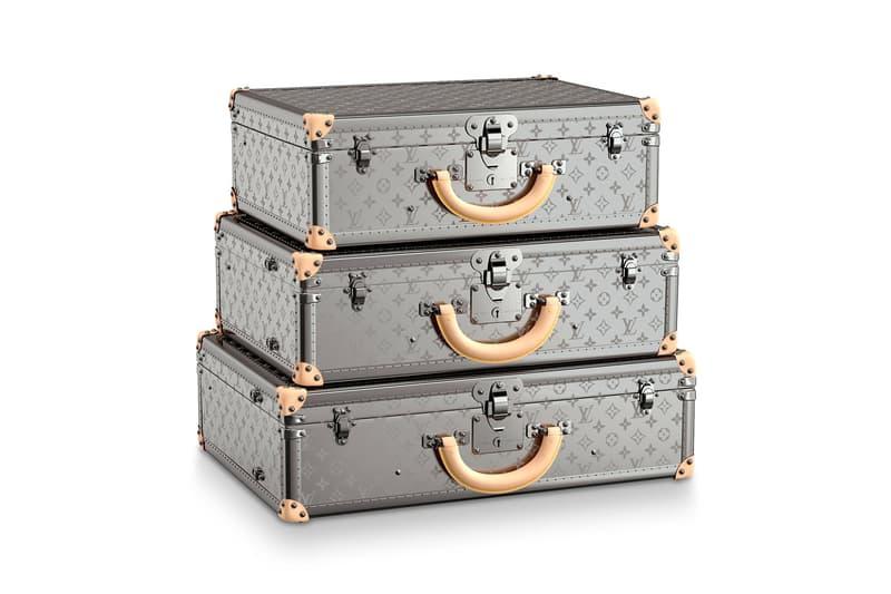 ルイ・ヴィトン Louis Vuitton ビステン Bisten Monogram Titane Collection 50 55 60 suitcase travel luggage trunk luxury designer fashion