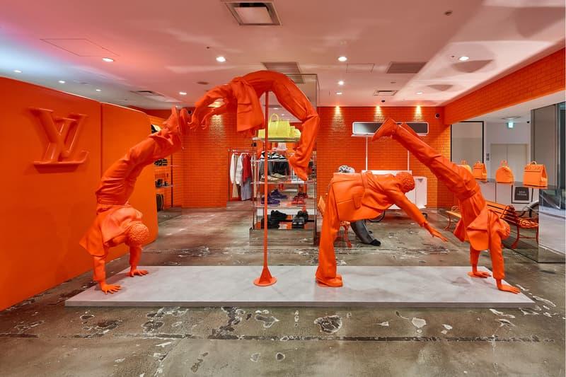 ルイ・ヴィトン ドーバーストリートマーケット 銀座 DOVER STREET MARKET GINZA で現在開催中の Louis Vuitton ポップアップの内部を公開