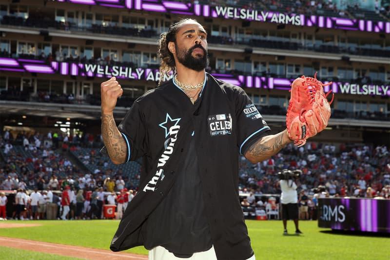 MLBオールスター2019のセレブリティ・ソフトボールゲームにてジェリー・ロレンゾがMVPを獲得 jerry lorenzo all star fear of god フィアオブゴッド