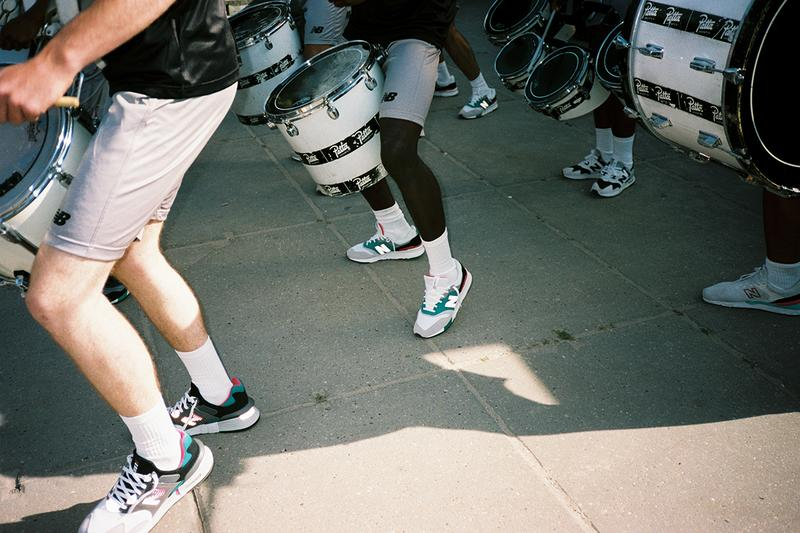 パタ x ニューバランス patta new balance 997s 997h 997 sneaker release information lookbook details amsterdam netherlands beach football tournament kawhi leonard runs in the family sadio mané jaden smith first look collaboration details news