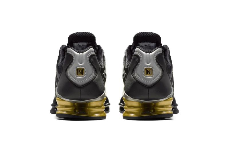 ネイマール ナイキ ショックス ブラック 黒 Neymar x Nike Shox TL Black Gold Release Info paris saint germain football soccer sneakers shoes 2000 throwback