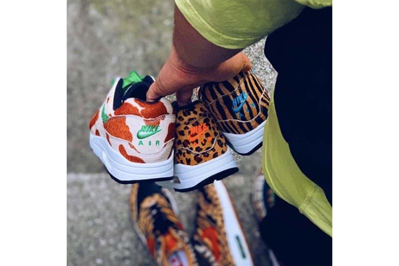 """Nike atmos ナイキ アトモス エアマックス Air Max 1 """"Animal"""" アニマル モデル 計3足"""