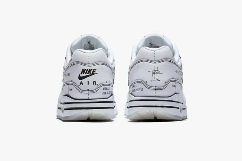 ティンカー・ハットフィールド スケッチから着想を得た計2型の Nike Air Max 1 が発売