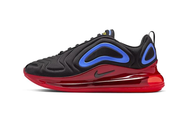 ナイキより原色を巧みに使用したエアマックス720の新色モデルが登場 Nike Air Max 720 Primary Colors Release Info black hyper royal challenge red university gold sneakers shoes