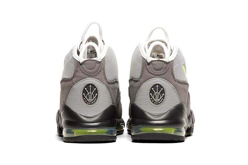 イエローグラデ ナイキ エアマックス アップテンポ nike air max uptempo 95 qs trainer sneakers black volt dust dark pewter colorway release